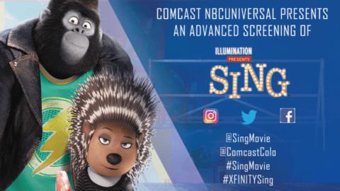 SING Advanced Movie Screening