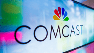 The Comcast logo.