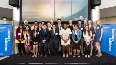 Comcast NBCUniversal Awards $76,000 in Scholarships to 58 Colorado High School Seniors
