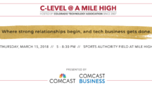 C-Level @ A Mile High – What's In It For You?