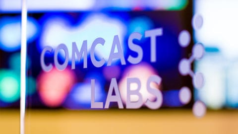 The Comcast Labs logo.