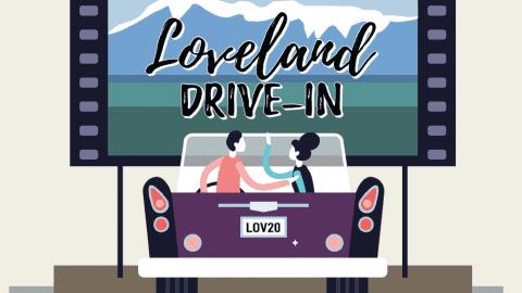 Loveland drive in poster