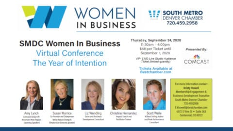 Women in Business speaker announcement flyer